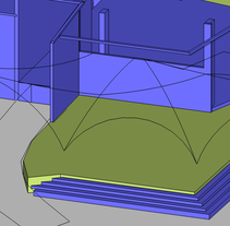 Modulos. 3D. Arqt.. A 3D, and Architecture project by Luis Franco         - 28.05.2015