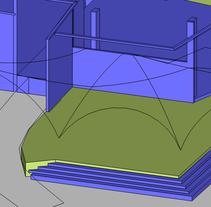 Modulos. 3D. Arqt.. Un proyecto de 3D y Arquitectura de Luis Franco         - 28.05.2015