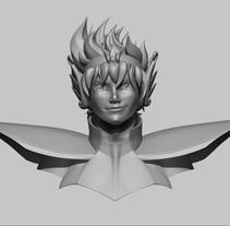 Mi Proyecto del curso Modelado de personajes en 3D. Un proyecto de 3D de Carmen Costa         - 28.05.2015