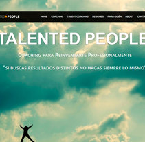 Página web con wordpress. A Web Design project by Isabel García Ferro         - 31.05.2015