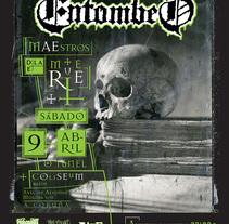 Entombed Maestros de la Muerte. A Art Direction, Graphic Design, and Photograph project by Cristo Aleister™  - Apr 09 2011 12:00 AM