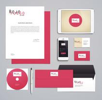 Branding para Rojo Fuego: Identidad corporativa, pàgina web, blog y NewsLetter.. A Design, Br, ing, Identit, Editorial Design, Graphic Design, Interactive Design, Product Design, and Web Design project by cuerva_toscano - 06-06-2015