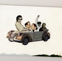 Collages. Un proyecto de Ilustración de Carmen Gómez Pablos - 07-06-2015
