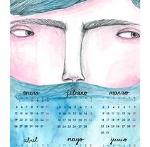 Calendario 2015. Un proyecto de Diseño e Ilustración de Eva zurita gallego         - 14.06.2015