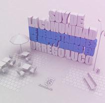 Mi Proyecto del curso Dirección de Arte con Cinema 4D. A 3D project by Milivoy Yutronic         - 14.06.2015