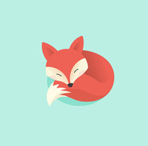 The lazy fox. A Illustration, T, pograph, and Calligraph project by Mercè Núñez Mayoral - 17-06-2015