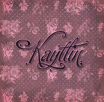 Kaytlin. Um projeto de Design gráfico e Tipografia de Juliana Muir         - 13.11.2012