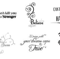 Semántica Tipográfica. Um projeto de Tipografia de Juliana Muir         - 06.11.2012
