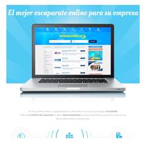 Boceto landing guiasamarillas.es. Un proyecto de Diseño Web de Ernesto Jiménez         - 14.05.2015