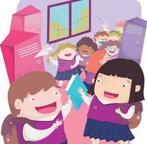 Nuevas Ilustraciones para Libro de Texto. A Illustration, Character Design, and Education project by Tania Rico         - 23.06.2015