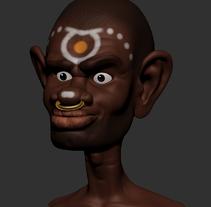 Mi proyecto del curso Modelado de personajes en 3D. A 3D project by Leonor Manso - 14-07-2015