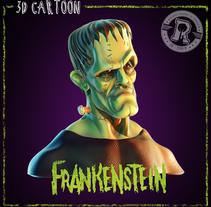 Proyecto Final del Curso - Busto de Superman, Busto de Frankenstein y Busto de Malefica. Un proyecto de 3D de Ricardo Montero de Espinosa         - 28.07.2015