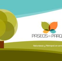 Folleto Paseos del Parque. A Br, ing, Identit, and Graphic Design project by Fabio Marcelo         - 19.07.2015