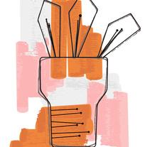 Abstract Plant. Un proyecto de Diseño e Ilustración de Rocío Albertos Casas - 23-07-2015