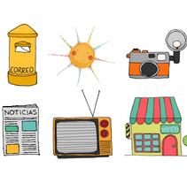 ::: Tina en la ciudad de los cuentos ::: Ilustraciones para web. / Web illustrations.. Un proyecto de Ilustración y Diseño Web de Sara pdf         - 02.10.2012