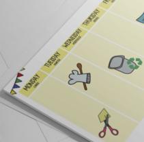Desarrollo de Identidad corporativa de varias empresas. Un proyecto de Diseño, Br, ing e Identidad y Diseño gráfico de Natalia Peña - 04-01-2015