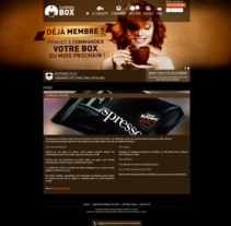 Coffee Box. A Marketing, Cop, and writing project by Laura Jouve - 02-09-2014