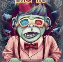 Ilustracional 2013. A Illustration project by Mel Trasfi - 09-10-2013