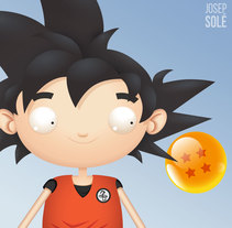 Dragon Ball: Learning After Effects, del lápiz al movimiento. Un proyecto de Ilustración, Motion Graphics y Animación de Josep Solé - Lunes, 24 de agosto de 2015 00:00:00 +0200