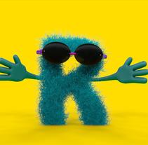 R 3D Toy. Um projeto de 3D, Design gráfico e Tipografia de Rebeca G. A         - 29.08.2015