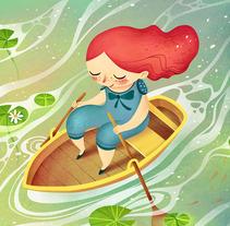 Ilustraciones_1. Un proyecto de Ilustración, Diseño de personajes y Bellas Artes de Ana Varela          - 30.12.2015