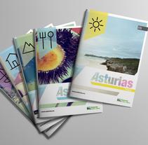Turismo de Asturias. A Br, ing, Identit, Editorial Design, and Graphic Design project by Diego Equis De         - 31.07.2013