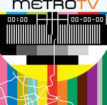 Cover | Dossier TV . Un proyecto de Dirección de arte, Diseño gráfico y Televisión de Demian  Abrayas - Viernes, 04 de septiembre de 2015 00:00:00 +0200