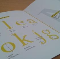 Tipografía Limón. Un proyecto de Tipografía de Alicia  Menal  - 06-09-2015