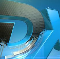 DXTV - BRANDING. Un proyecto de Motion Graphics, 3D, Animación, Br e ing e Identidad de Fiero - 08-09-2015