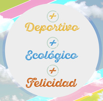 + deportivo  + ecológico + felicidad. A Art Direction project by juan sebastián         - 10.09.2015