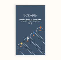 Cartel realizado para el Grupo Bokado con motivo de las Regatas de la Concha. Un proyecto de Diseño, Dirección de arte y Diseño gráfico de TGA +  - 02-09-2015