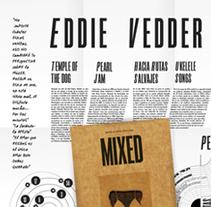 Infografía, MIXED n.26 mag. Un proyecto de Diseño editorial y Diseño gráfico de María Constanza Lastra - 17-09-2015