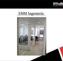 Oficina EMM  Ingeniería. A Design, Installations, Architecture, Furniture Design, Industrial Design, Interior Architecture, Interior Design, and Lighting Design project by DPStudio         - 21.09.2015