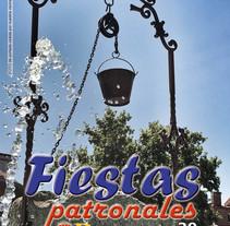 Programa de fiestas patronales de Brunete. Un proyecto de Diseño gráfico de Vanessa Maestre Navarro         - 09.08.2015