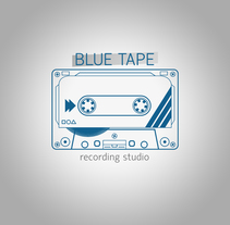 BLUE TAPE Recording Studio. A Advertising project by Julen Gerrikabeitia Segura         - 24.09.2013