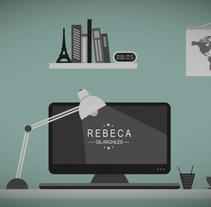 2D motion office. Um projeto de Motion Graphics, Animação e Vídeo de Rebeca G. A         - 27.09.2015