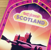 Bollywood Scotland map. A Design project by Rod Tena - Sep 29 2015 12:00 AM