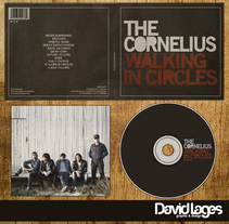 CD The Cornelius (Walking in Circles). A Design, Graphic Design, and Packaging project by david lages         - 28.09.2015