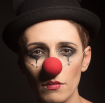 Retrato de una clown. A Photograph project by Lucía Rentería Bernard         - 28.09.2015