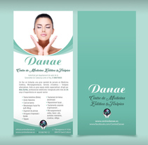 Estética Danae. A Graphic Design project by Jaume Turon Auladell - 29-09-2015