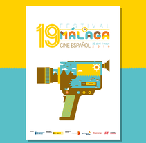 Festival Malaga 2016. Un proyecto de Ilustración, Diseño gráfico y Cine de Salmorejo Studio          - 05.10.2015