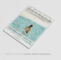 Magazine VEOLEO. A Design, Fine Art, and Graphic Design project by Maria Neira Nogueiras         - 05.10.2015