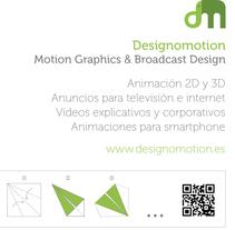 Flyer Origami Designomotion.es . Un proyecto de Publicidad, Motion Graphics, 3D, Animación y Post-producción de DESIGNOMOTION         - 07.10.2015