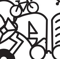 Diseño ganador Flea Market Bcn. Un proyecto de Diseño e Ilustración de Luisa Sirvent - Jueves, 08 de octubre de 2015 00:00:00 +0200