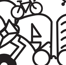Diseño ganador Flea Market Bcn. A Design&Illustration project by Luisa Sirvent - Oct 08 2015 12:00 AM