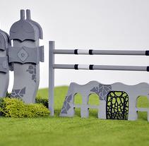 CSIO BARCELONA 2015. Um projeto de Design e Instalações de Núria Alarcón Giné         - 14.09.2015
