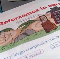 Ilustraciones para libros didácticos infantiles.. Un proyecto de Ilustración y Diseño gráfico de Yago Roselló Lozano         - 14.03.2015