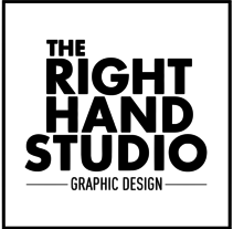 The Right Hand Studio - Logo Design. A Design, Art Direction, Design Management, Editorial Design, Graphic Design, T, pograph, and Web Design project by Armand Paul Quiroz         - 20.10.2015