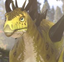 Dinosaurs. Un proyecto de 3D de Meritxell Aznar Carmona         - 31.05.2015
