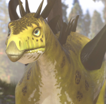Dinosaurs. Um projeto de 3D de Meritxell Aznar Carmona         - 31.05.2015